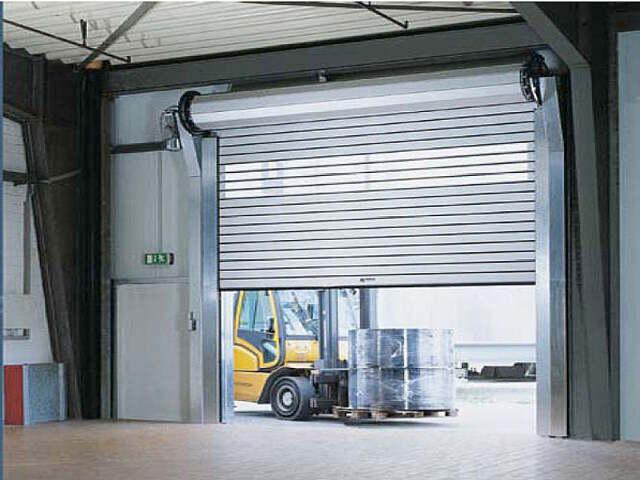 Commercial Roll-Up Steel Doors