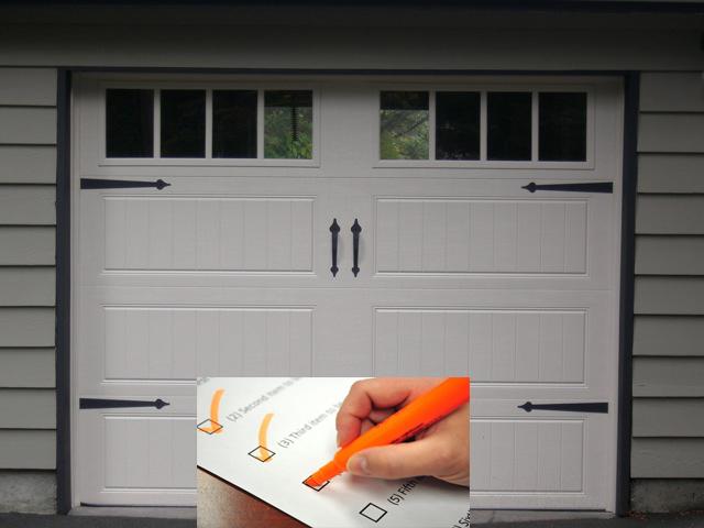 Garage Door Tune-up and Inspection